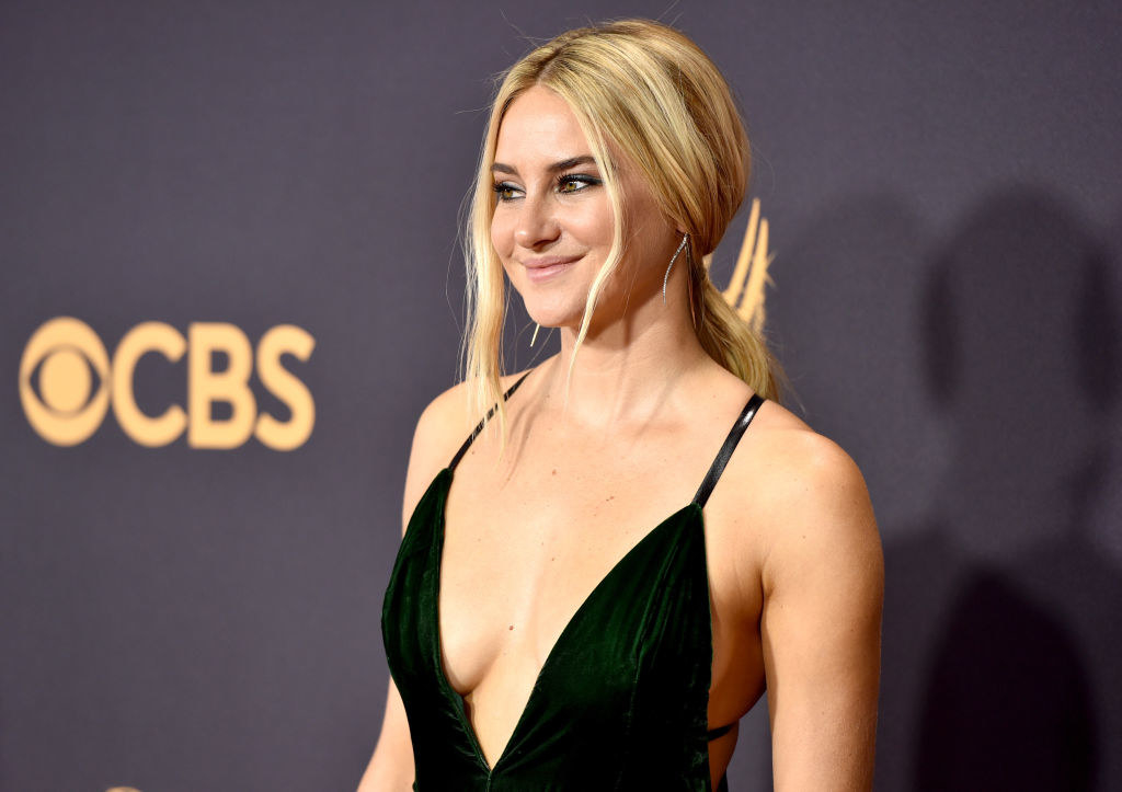 Shailene Woodley attends the 69th Annual Primetime Emmy Awards