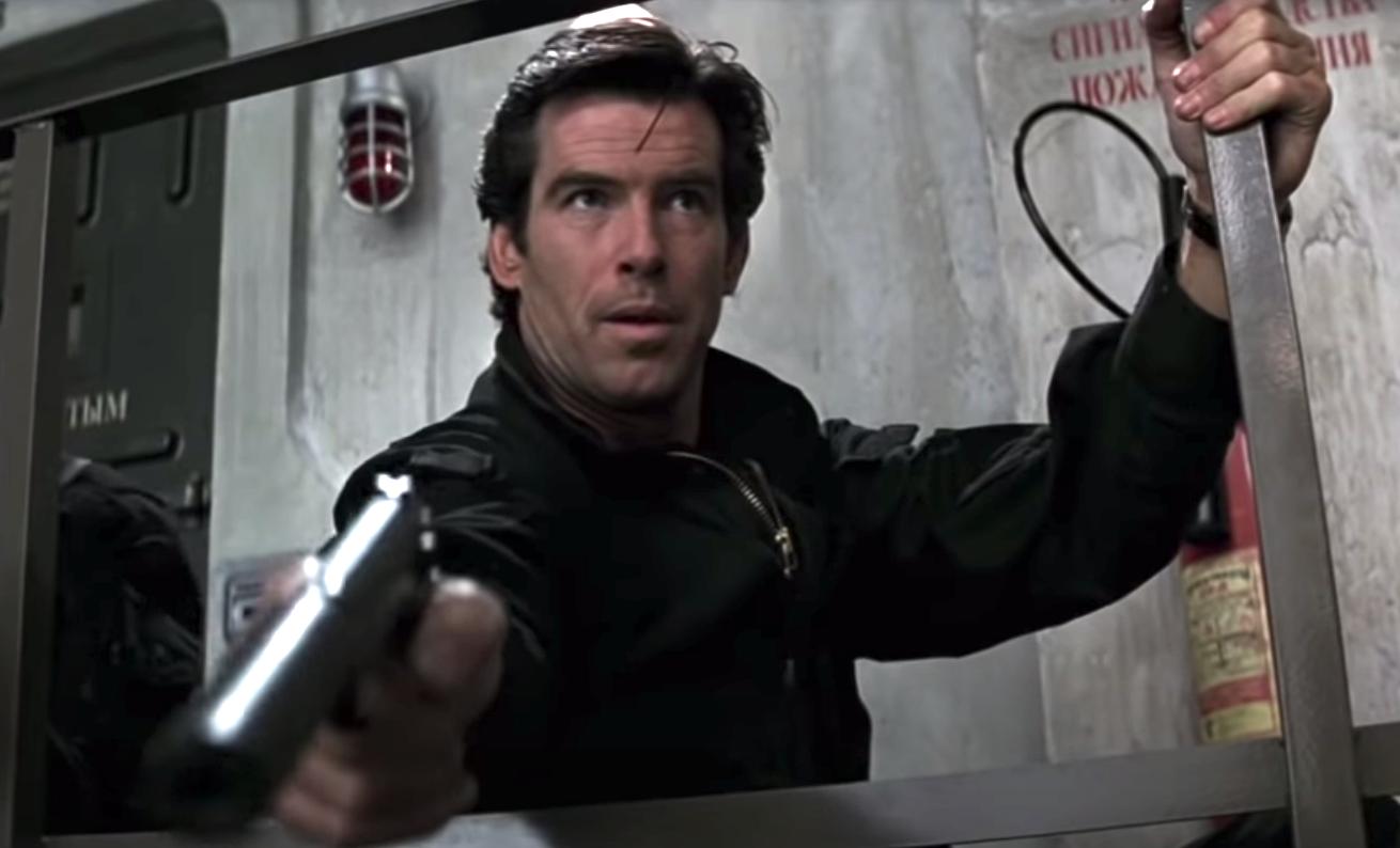 "Pierce Brosnan as James Bond in ""GoldenEye"""
