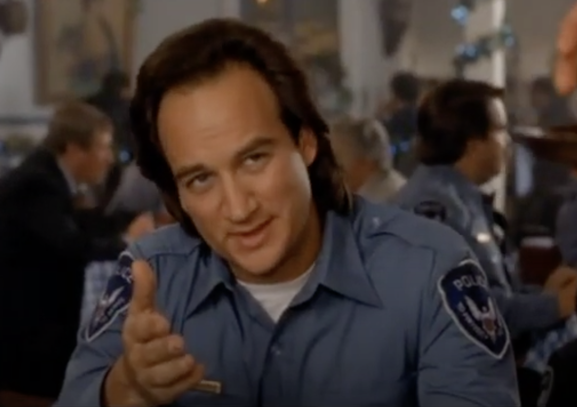 """Jim Belushi in """"Only the Lonely"""""""