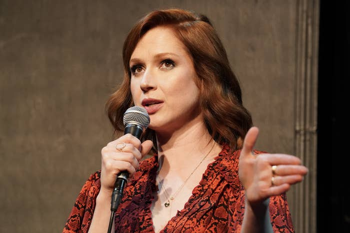 """Ellie Kemper participates in Universal Television's FYC """"Unbreakable Kimmy Schmidt"""" panel at UCB Sunset Theater on May 29, 2019 in Los Angeles, California"""