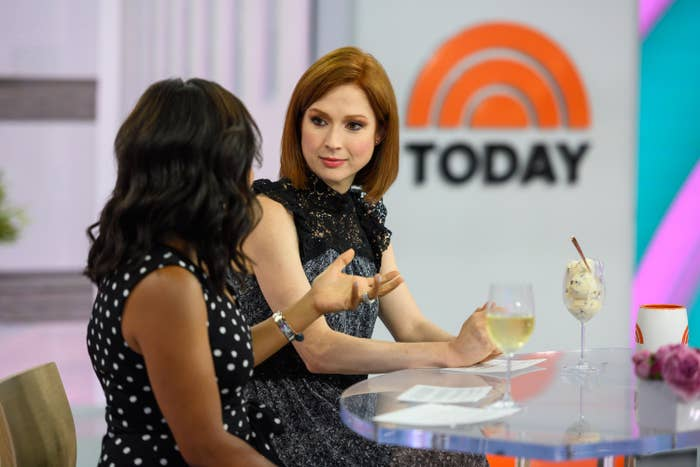 """Ellie Kemper in conversation with Shienelle Jones on NBC's """"TODAY"""""""