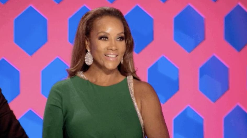"""Vivica A. Fox as a host on """"RuPaul's Drag Race"""""""