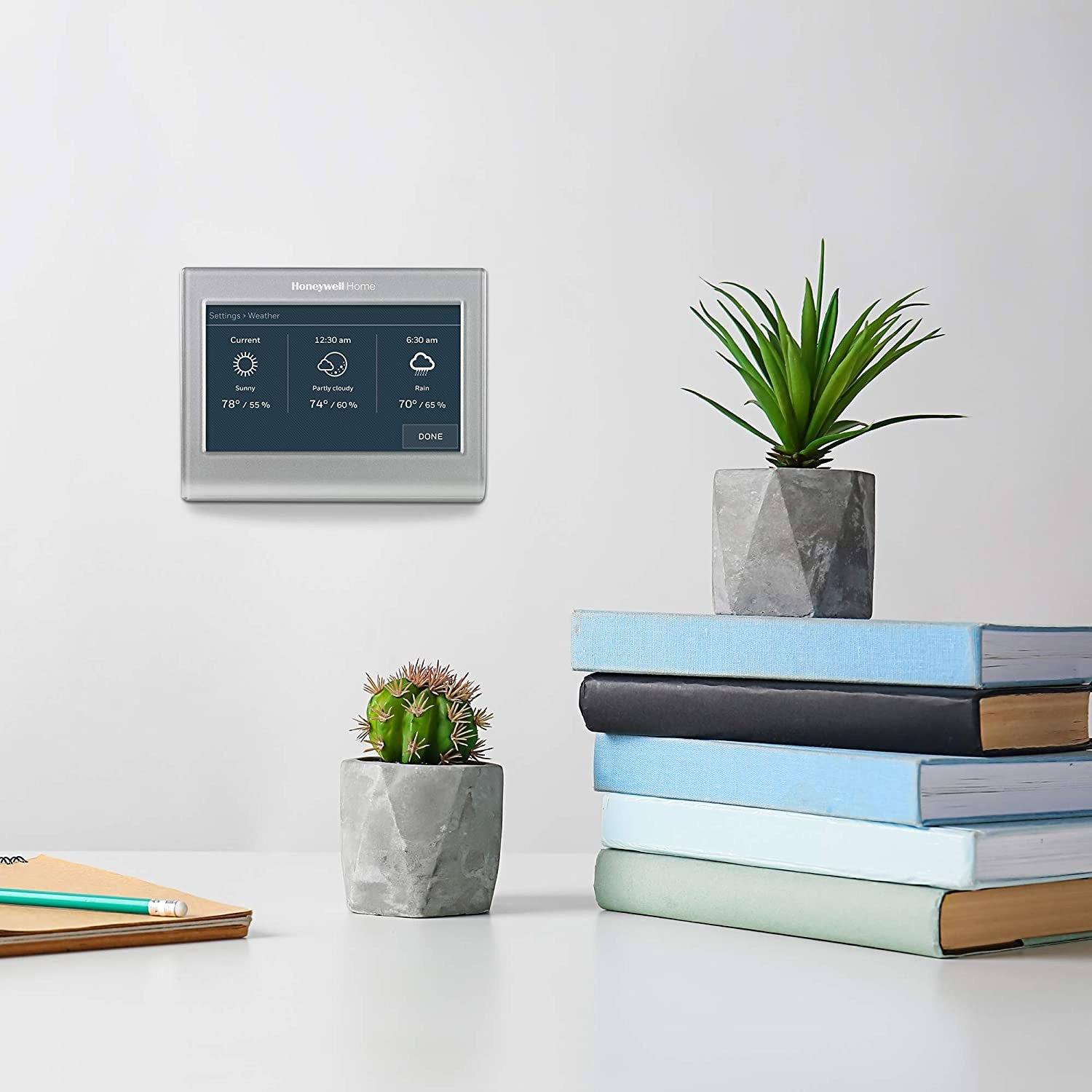 A WiFi thermostat