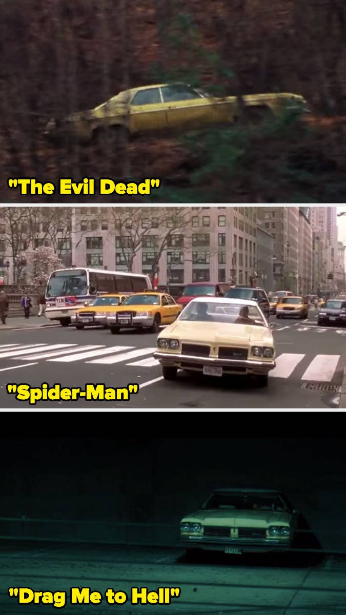 The '1973 Oldsmobile Delta 88 Royale', owned by Sam Raimi, has been featured in most of his movies. It has appeared in The Quick and The Dead.15 Props Used In More Than One Movie