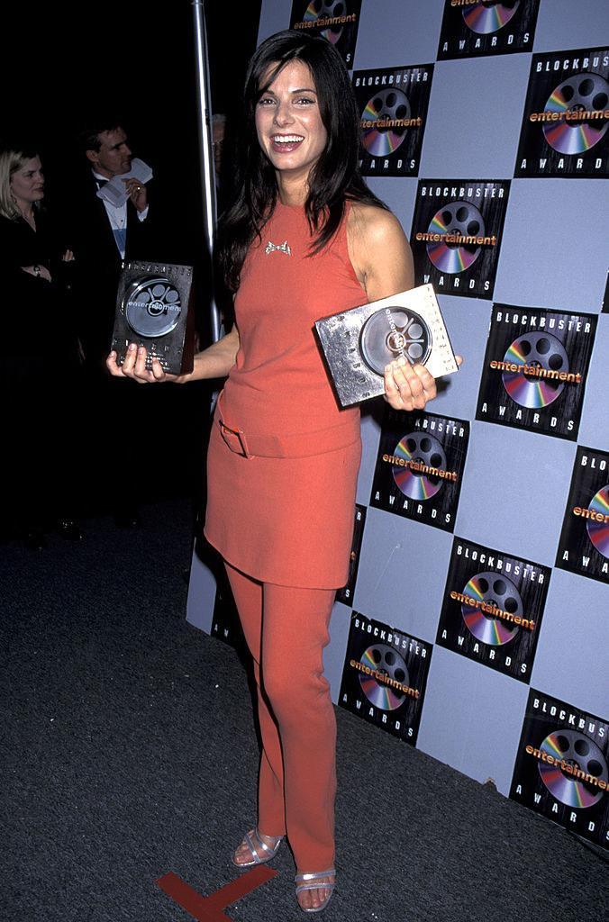 at the Blockbuster Awards