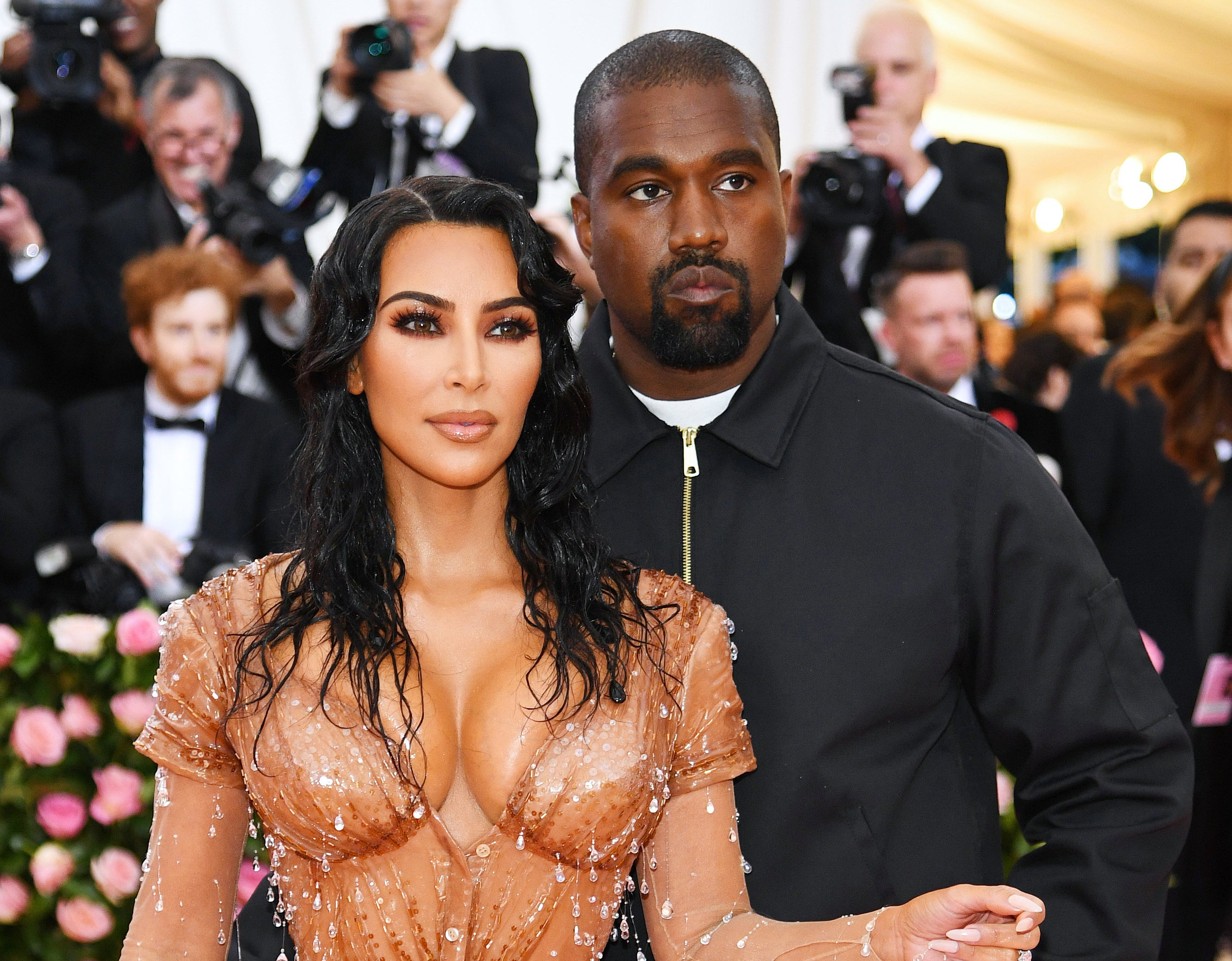 Kim and Kanye attend the Met Gala together