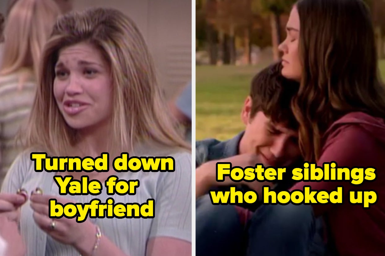 38 Choices Teenagers Made On TV Shows That Were Far From Smart To Say The Least