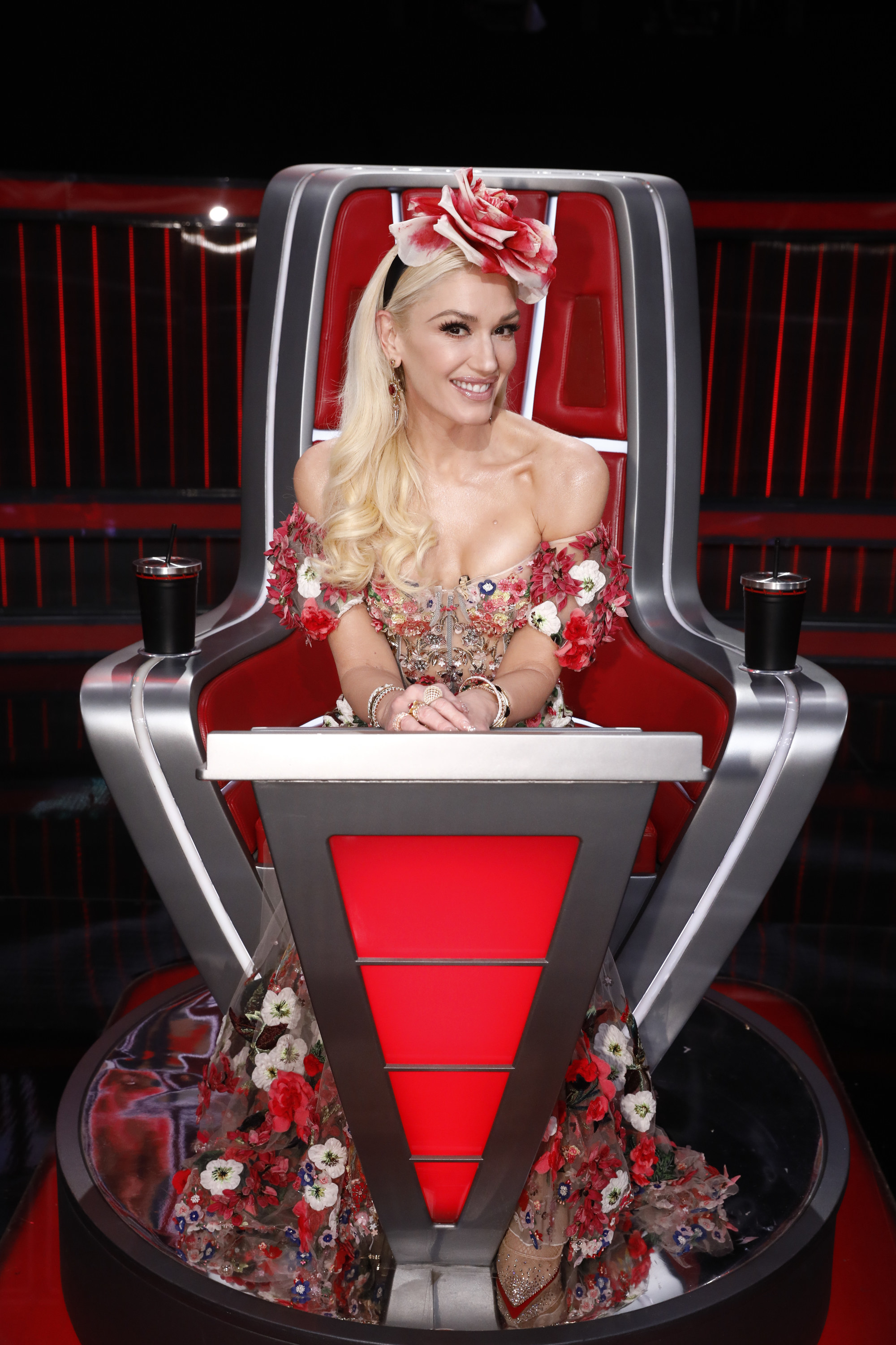 a host on The Voice