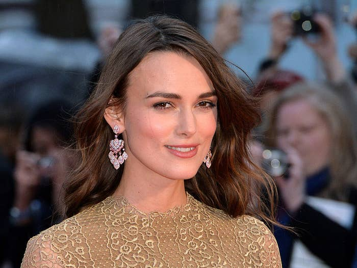"""Keira Knightley attends the opening night gala screening of """"The Imitation Game"""""""
