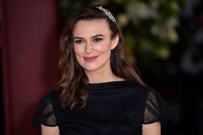 """Keira Knightley attends """"The Aftermath"""" World Premiere"""