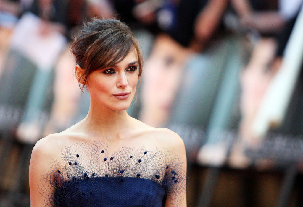 Keira Knightley arrives at the World Premiere for The Duchess