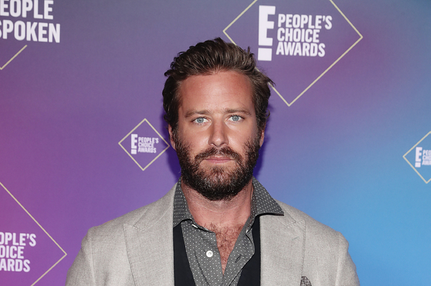 Armie Hammer Is Reportedly In Treatment For Sex Drug And Alcohol Issues – BuzzFeed