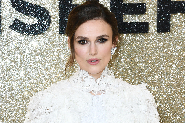 Keira Knightley Got Candid About Harassment Against Women While She Was Literally Being Followed By A Strange Man - BuzzFeed