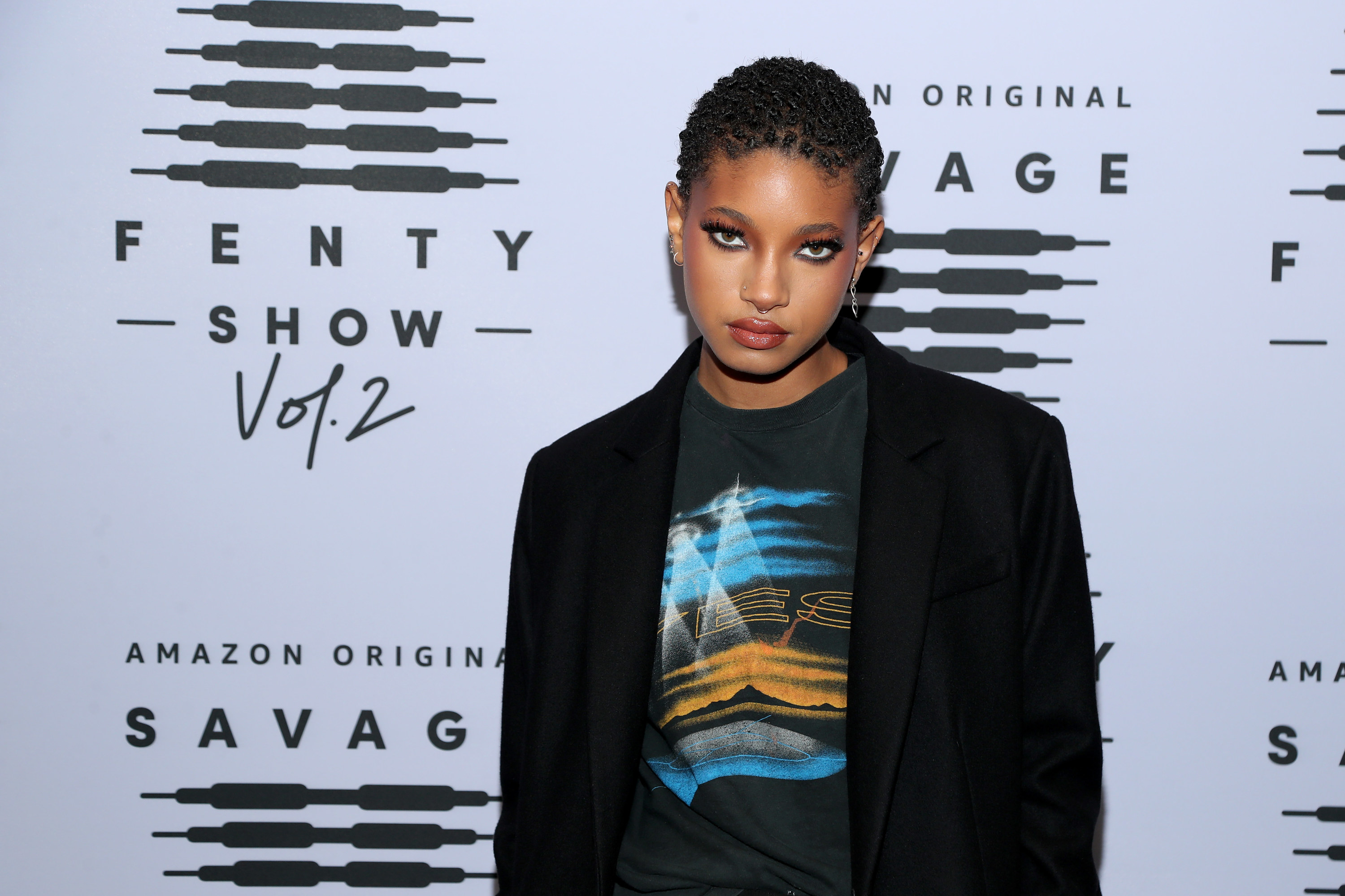 Willow Smith attends Rihanna's Savage X Fenty Show Vol. 2 presented by Amazon Prime Video at the Los Angeles Convention Center in Los Angeles, California