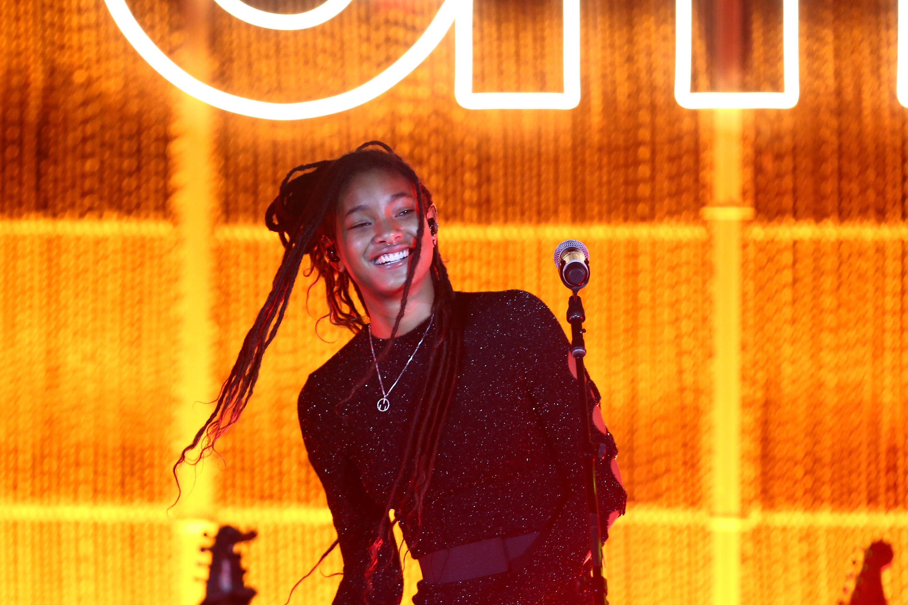 Willow Smith performs onstage during the Environmental Media Association 2nd Annual Honors Benefit Gala at Private Residence on September 28, 2019 in Pacific Palisades, California