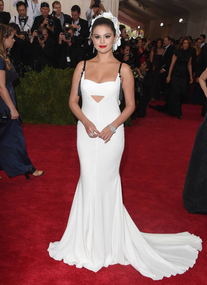 Actress/singer Selena Gomez attends the 'China: Through The Looking Glass' Costume Institute Benefit Gala at the Metropolitan Museum of Art on May 4, 2015 in New York City