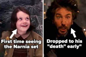 Lucy in Chronicles of Narnia labeled