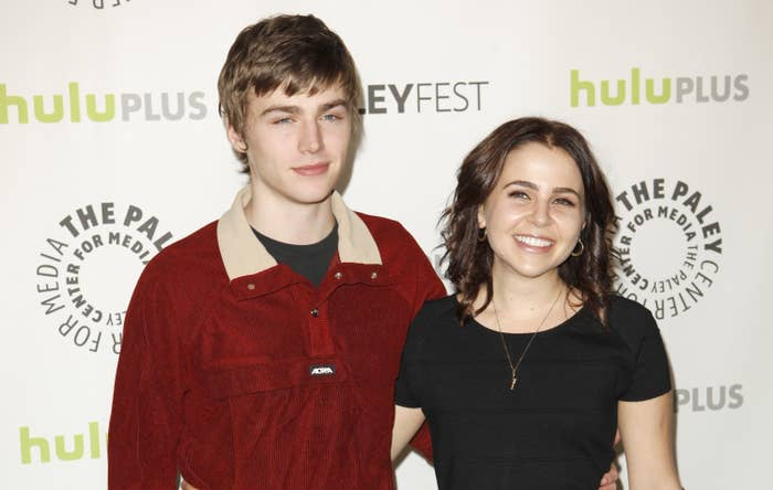 """Miles and Mae at """"Parenthood"""" event"""