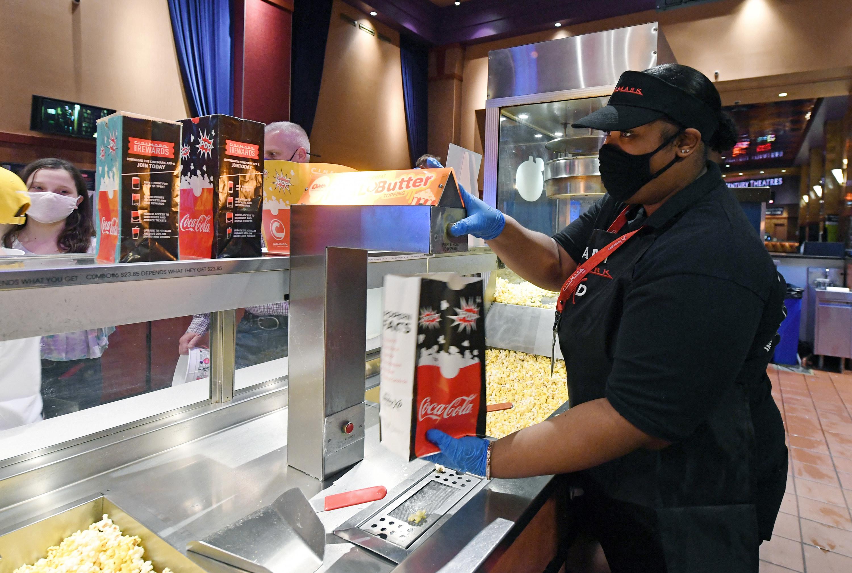 a popcorn butter machine