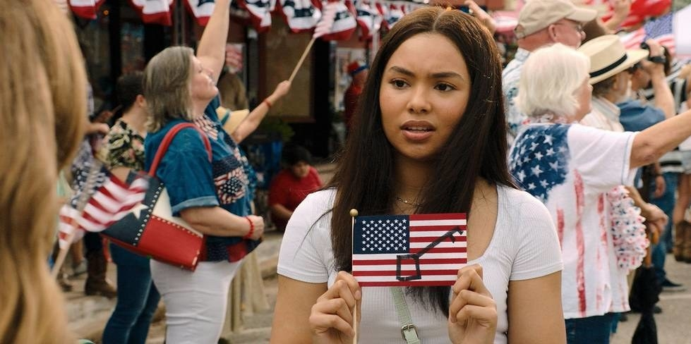 Jessica Sula as Natalie Williams in the series Panic