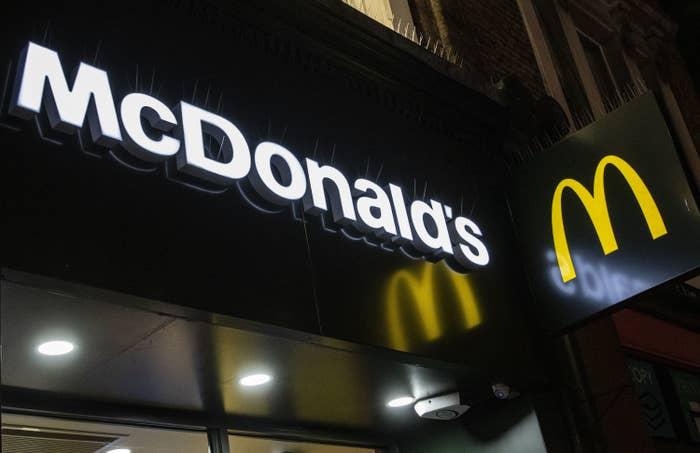 a mcdonald's