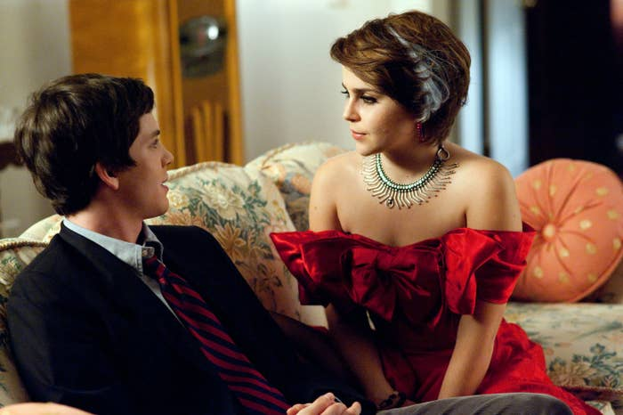 """Mae Whitman and Logan Lerman in """"Perks of Being a Wallflower"""""""