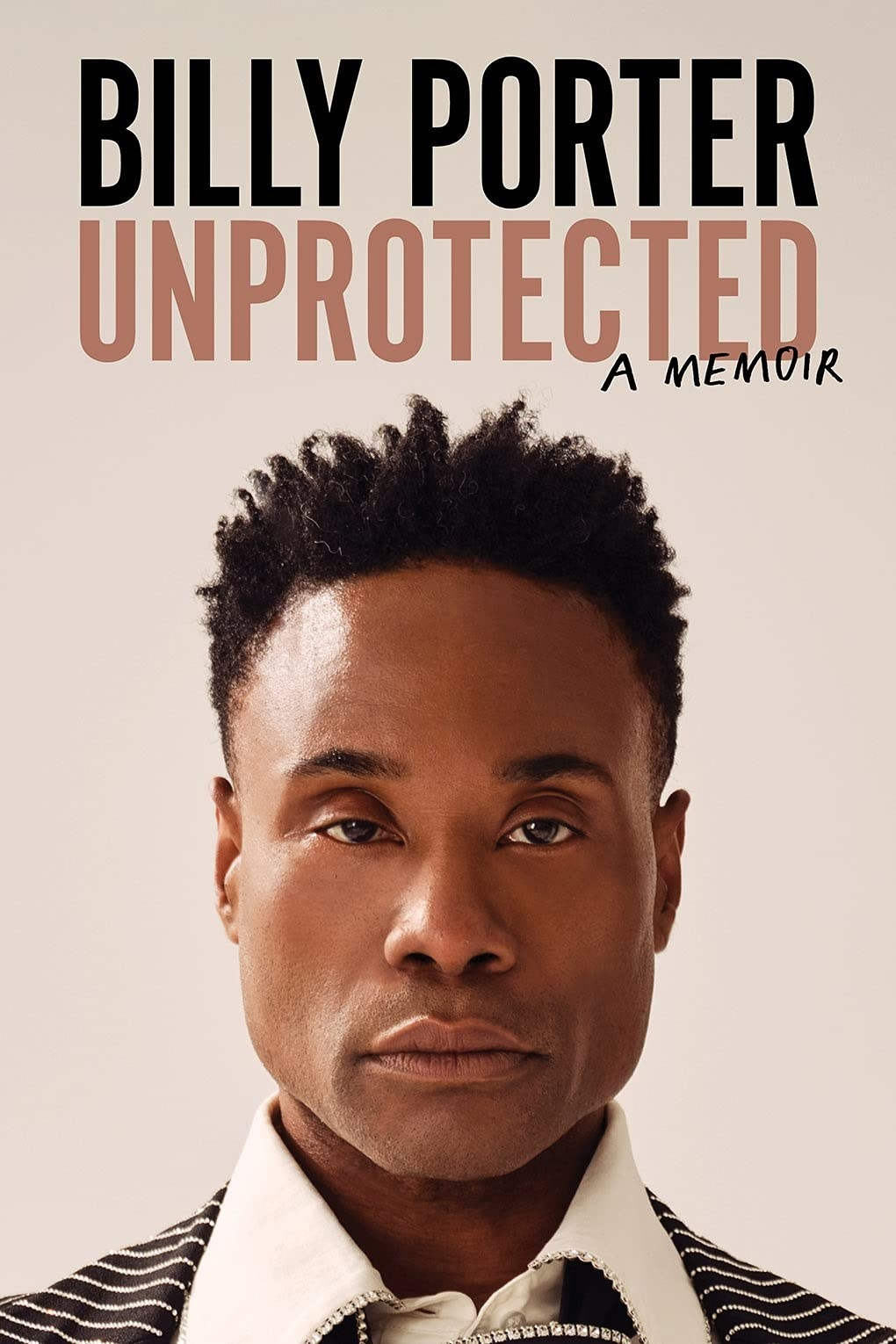 the memoir which features a profile image of Billy Porter