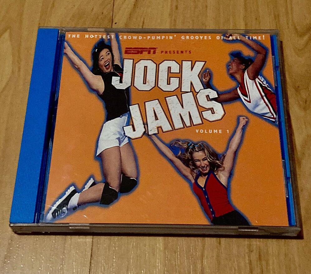 Jock Jams CD of a table