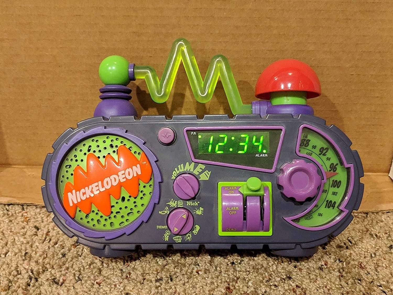 The Nickelodeon alarm clock