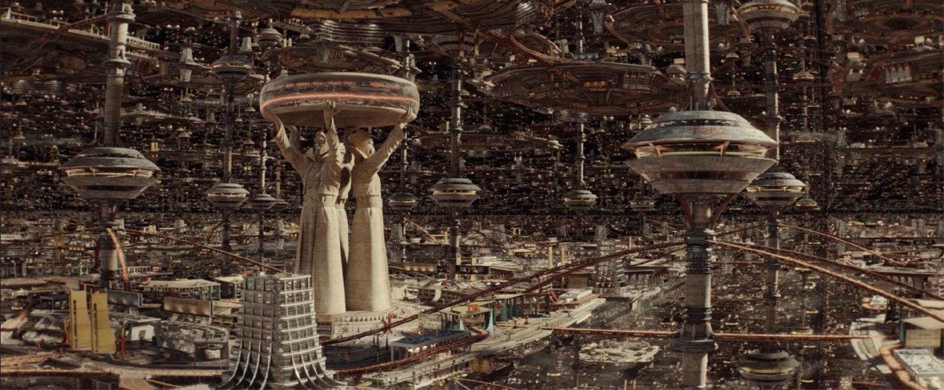 Cityscape of the TVA