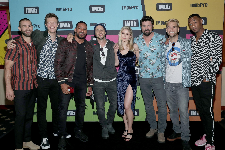"""""""The Boys"""" cast"""