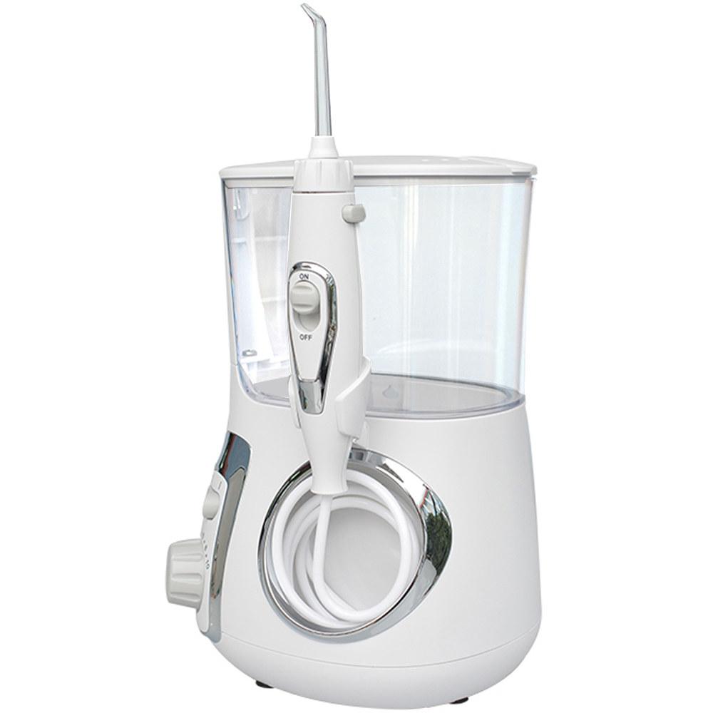 water flosser in white