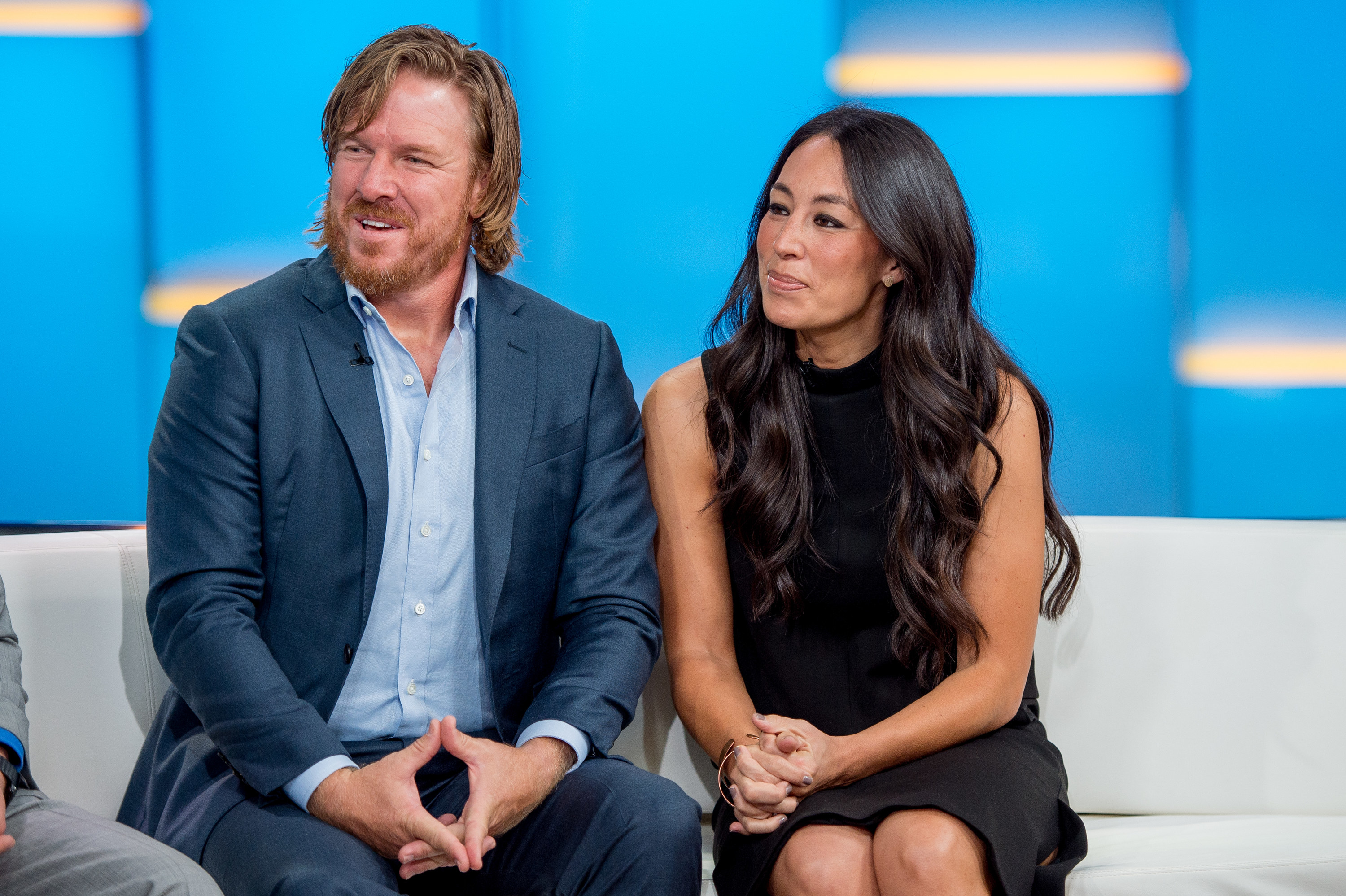 """Chip Gaines and Joanna Gaines appear on """"Fox & Friends"""""""