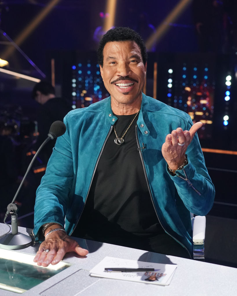 """Lionel Richie as a judge on """"American Idol"""" in 2021"""