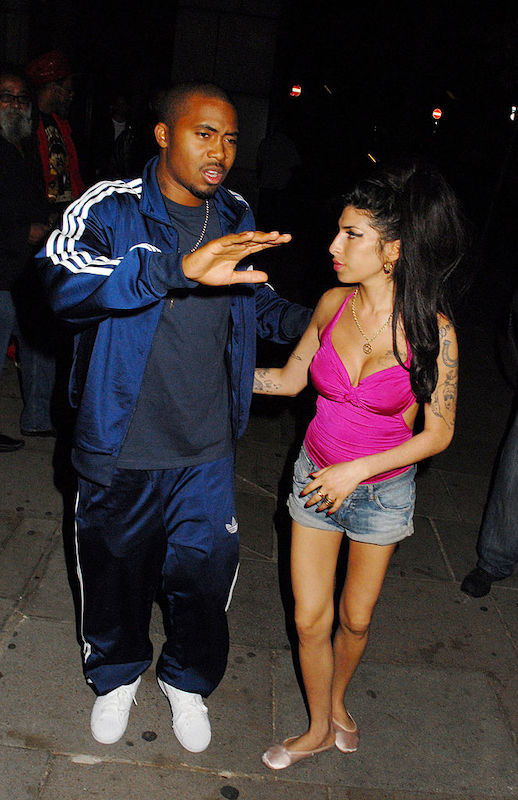Nas and Winehouse hanging out together in 2010