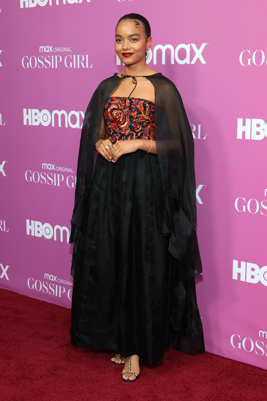 "Whitney Peak at the ""Gossip Girl"" reboot premiere"