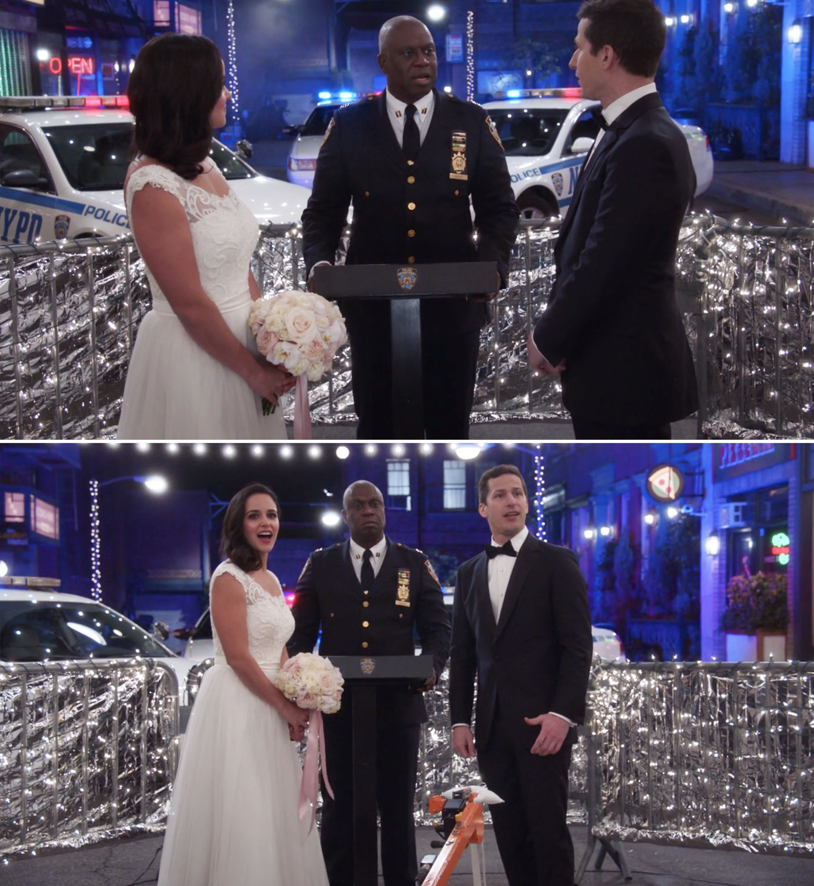 Jake and Amy getting married