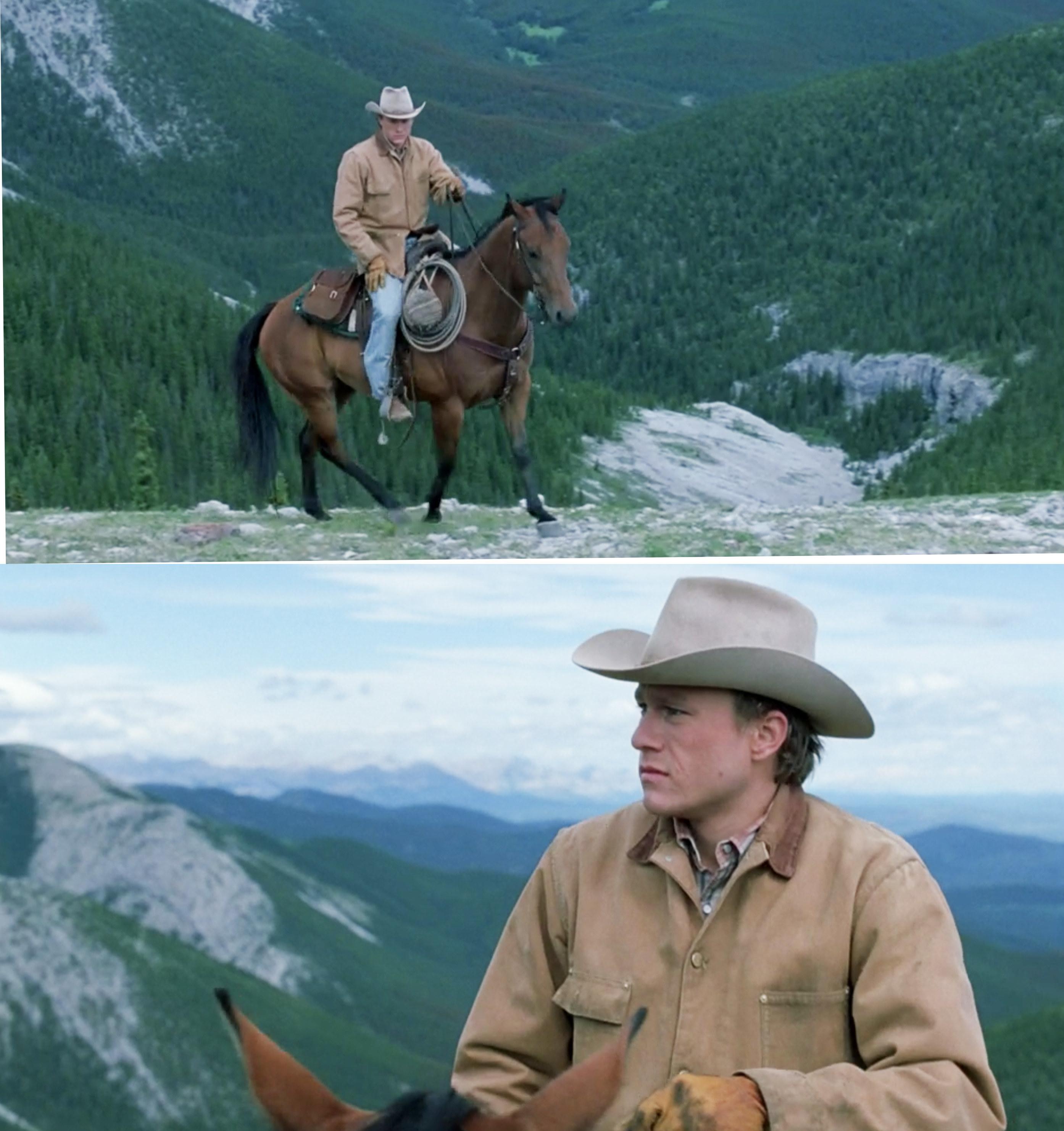 Ennis riding his horse
