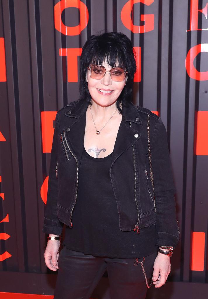 Joan Jett at aBvlgari B.zero1 Rock event in 2020