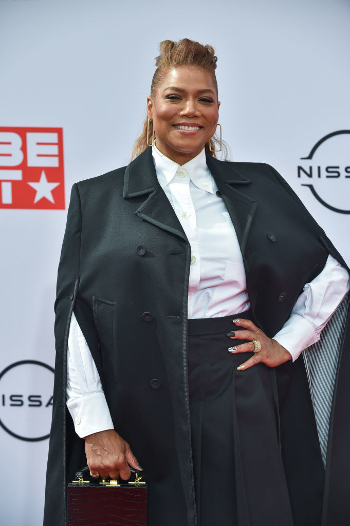 Queen Latifah at the BET Awards in 2021