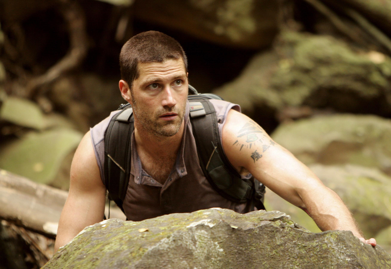Jack in season 2 of Lost