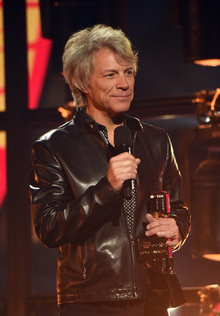 Jon Bon Jovi at the Billboard Music Awards in 2021