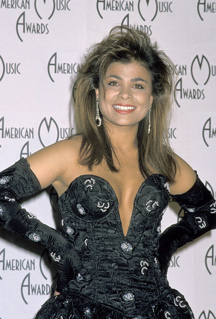 Paula Abdul at the American Music Awards in 1989