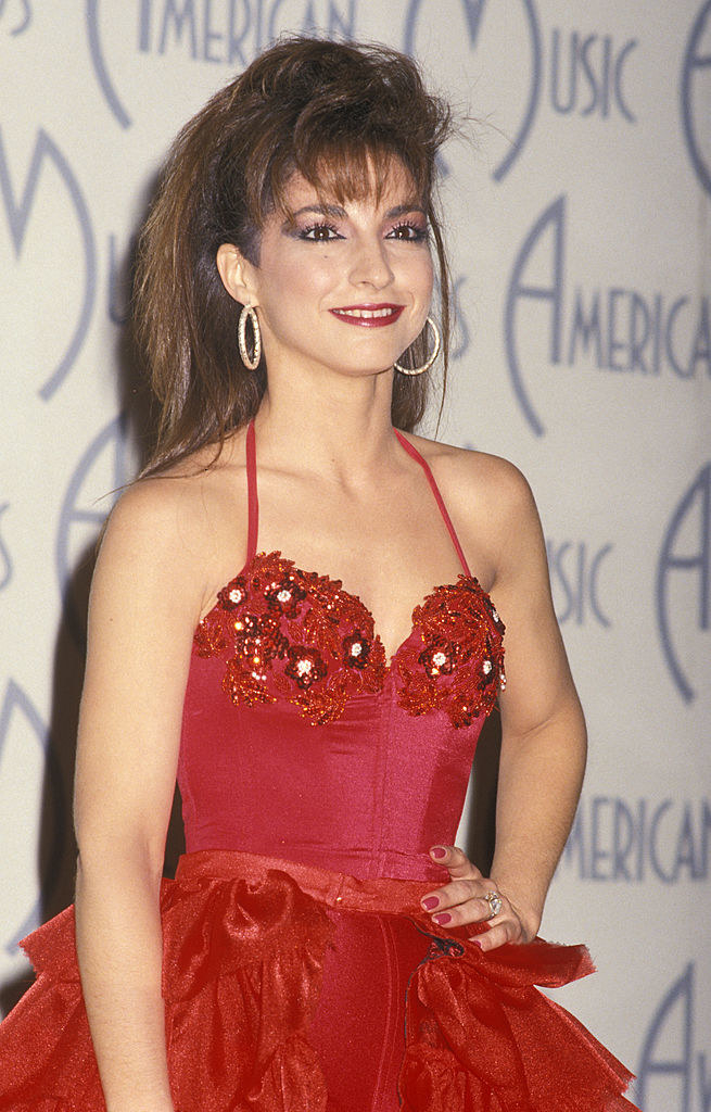 Gloria Estefan at the 1988 American Music Awards