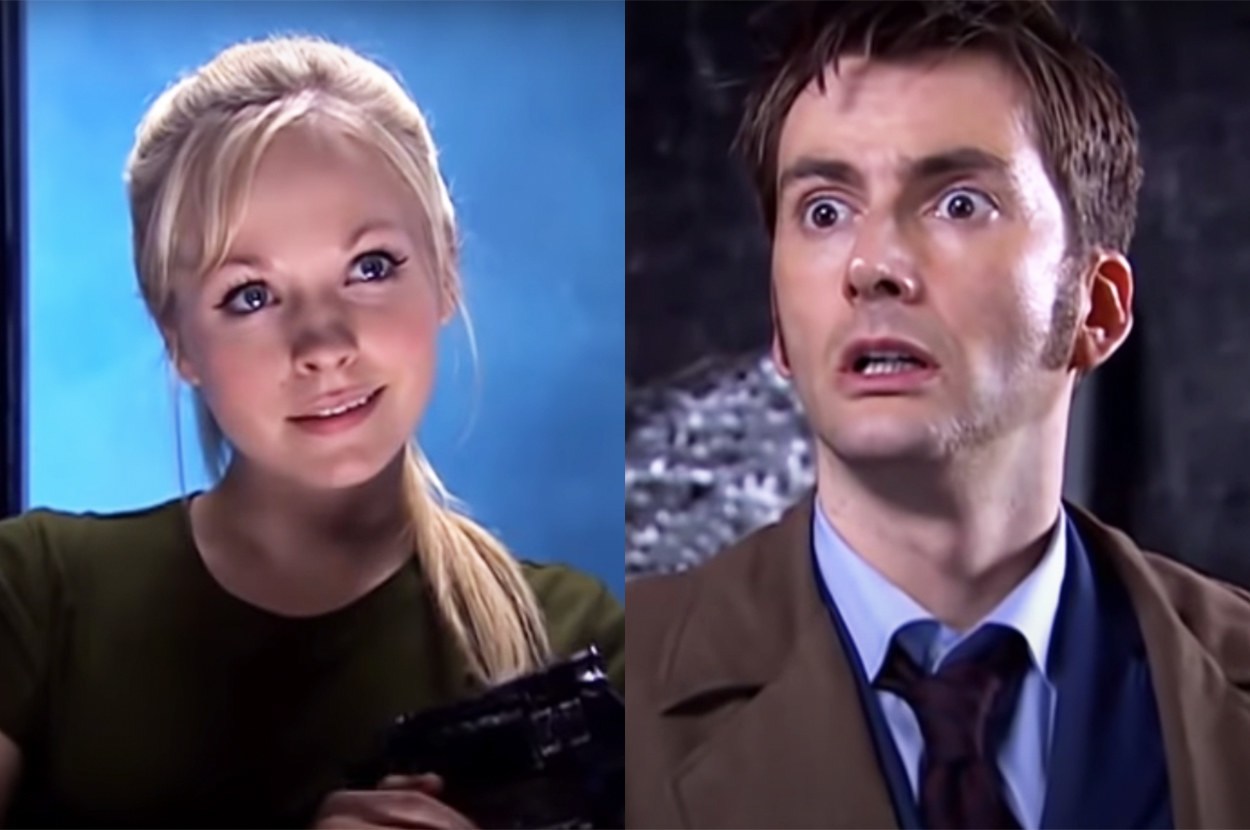 they played the Doctor and his daughter Jenny