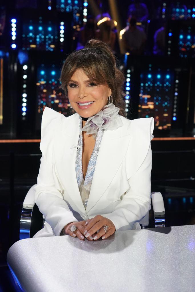 "Paula Abdul as a judge on ""American Idol"" in 2021"