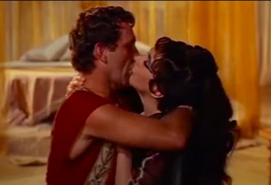 they played Cleopatra and Mark Antony