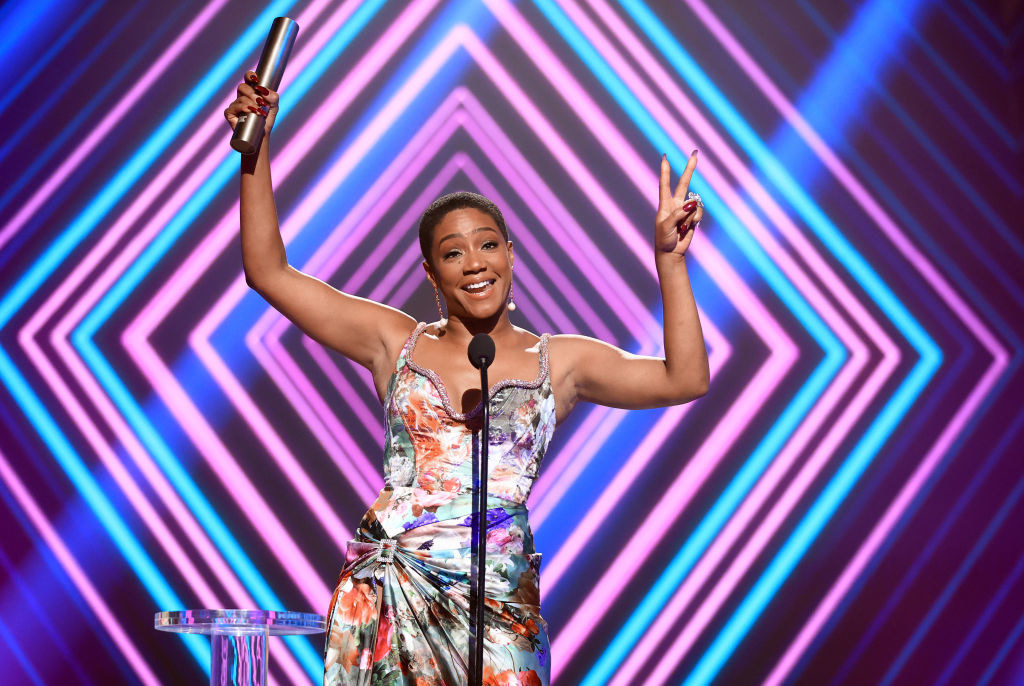 Haddish at the E! People's Choice Awards