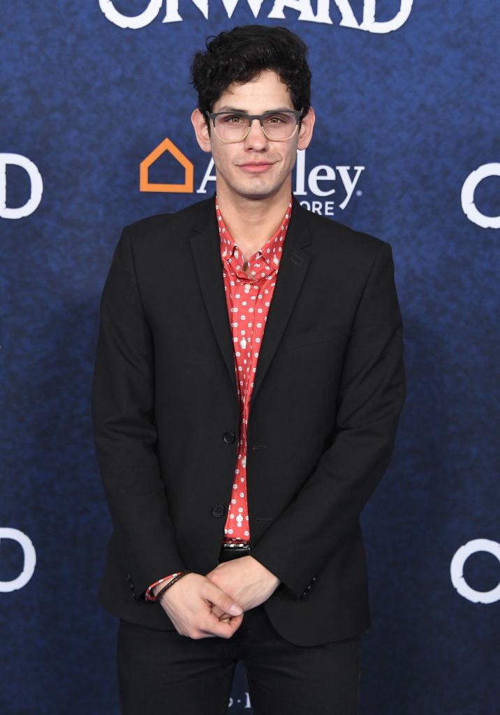 Matt Bennett on a red carpet