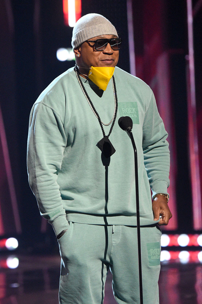 LL Cool J at the iHeartRadio Music Awards in 2021